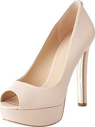 Guess Footwear Dress Sling Back, Escarpins à Plateforme Femme, Ecru (Ivory Cream), 36 EU