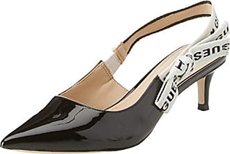 Guess Damen Footwear Dress Sling Back Plateaupumps, Nero (Black), 37 EU