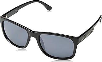 Guess Herren Sonnenbrille GU6838, Weiß (Bianco/Nero), 57