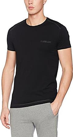 Guess SS Vn Cornely tee, Camiseta para Mujer, Negro (Jet Black A996), M