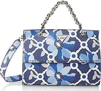 Damen Bags Hobo Umhängetasche, Blau (Sky), 11x21.5x30.5 centimeters Guess
