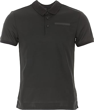 Polo Shirt for Men, Grey, Cotton, 2017, L M S Guess