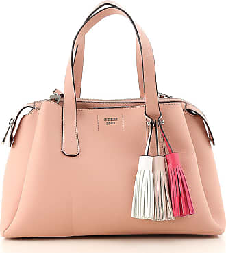 Top Handle Handbag On Sale, Poppy, polyurethane, 2017, one size Guess