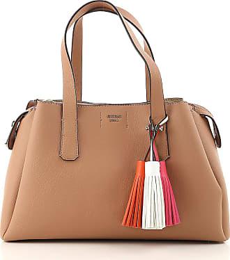 Top Handle Handbag On Sale, Tan, polyurethane, 2017, one size Guess
