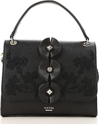 Guess Shoulder Bag for Women On Sale, Black, polyurethane, 2017, one size