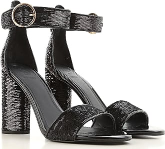 Zapatos de Mujer Baratos en Rebajas, Negro, Charol, 2017, 35 36 37 38 40 Guess