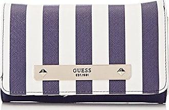Slg Wallet, Womens Multicolour (Blue Floral), 2x10x20 cm (W x H L) Guess