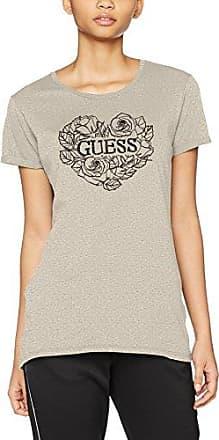 Guess SS Cn Baguette tee, Camiseta para Mujer, Azul (Astral Aura Asau), X-Small