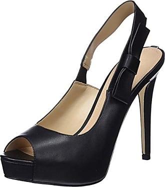 Guess Footwear Dress Sling Back, Zapatos de Tacón con Punta Cerrada para Mujer, Negro (Black Black), 39 EU Guess