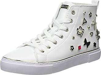Sneakers for Women On Sale, White, Leather, 2017, 2.5 4.5 7.5 Guess