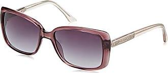 Guess Damen Sonnenbrille GU7455_81B, Violett (Viola Trasparente), 58