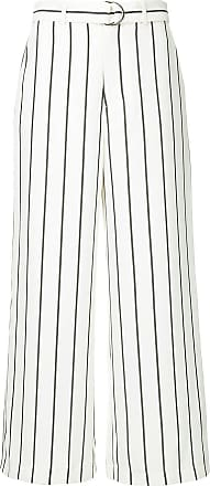 belted striped trousers - Weiß Guild Prime