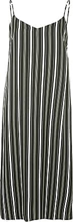striped midi slip dress - Schwarz Guild Prime