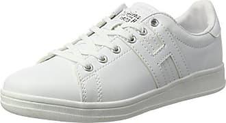 H.I.S.15WC030 - Zapatillas Mujer, Color Blanco, Talla 40