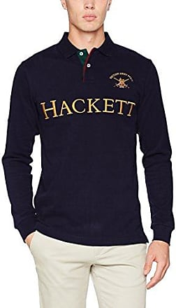 Hackett AMR Nbr, Polo Homme, Bleu (595navy), Small