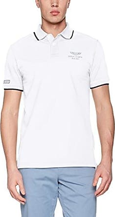 Hackett GMD Stretch, Polo Homme, Blanc (White), XL(UK)Hackett