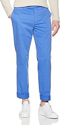 Kensington Slim Chino, Pantalones para Hombre, Azul (Pop Blue 570), W36/L32 Hackett