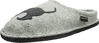 Haflinger Grizzly Jette, Zapatillas de Estar por Casa Unisex Adulto, Rojo (Port 33), 42 EU