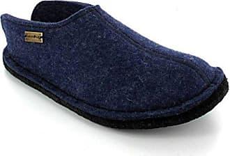 Unisex-Erwachsene Flair Smily Pantoffeln, Blau (Jeans 72), 38 EU Haflinger