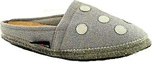 Haflinger, Damen Pantoffel, Point, 619056-84 Steingraumeliert (39 EU, Steingraumeliert)