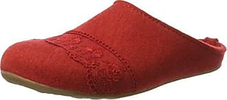 Classic - Zuecos Mujer, Color Rojo, Talla 43 Haflinger