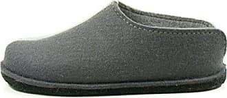 Haflinger Flair Cara, Damen Pantoffeln - Grau (asphalt/58), 36 EU (3 Damen UK)