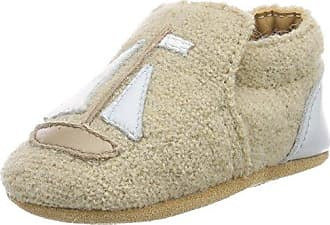 Haflinger Leinen los, Zapatillas de Estar por Casa Unisex Bebé, Beige, 18 EU