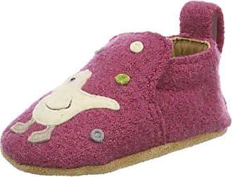 Haflinger Unisex Baby Piep Hausschuhe, Pink (Azalee), 21 EU