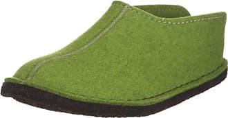 311013, Chaussons Femme - Vert - Vert (Grasgrün 36 36), 48 EUHaflinger