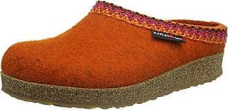 Haflinger Flair Soft, Pantuflas para Mujer, Naranja (Rost 243), 36 EU