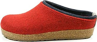 Grizzly Jette, Chaussons Mixte Adulte, Rouge (Port 33), 42 EUHaflinger