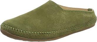 Haflinger Unisex-Erwachsene Softino Pantoffeln, Grün (Schilf), 37 EU