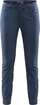 Trekkings Trekkinghose für Damen   blau/schwarz Haglöfs