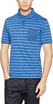 H Poloshirt Softknit, Polo Homme, Bleu (Blau), SmallHajo