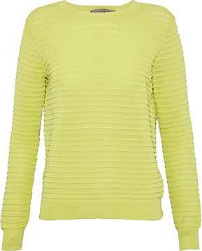 Cheap Best Prices Sale Many Kinds Of Halston Heritage Woman Chiffon-paneled Cutout Knitted Sweater Pastel Yellow Size XS Halston Heritage Discounts Online Get Authentic Sale Online Outlet Best Prices kOluI2M2