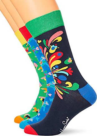 Mens Jungle Socks, Multicoloured (7000), 4-7 (Manufacturer Size: 36-40) Happy Socks