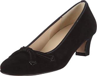 Paris, Weite H, Zapatos de Tacón con Punta Cerrada para Mujer, Gris (6300 Graphit), 37 EU Hassia