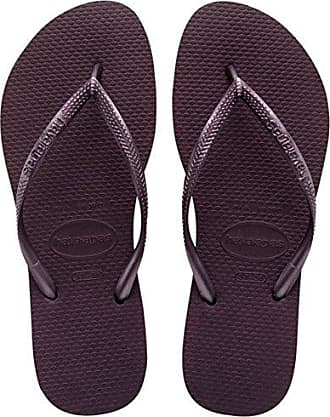 Havaianas - Women's Origine Slim - Sneaker Gr 34 - EU 36 schwarz/rot 9sY40