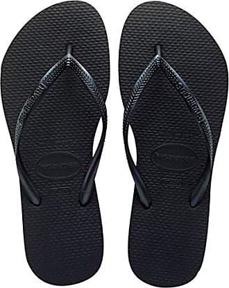 Damen Havianias Slim Animal Gummi Leicht Brasilien Sandalen Flip-Flops - Weiß/Rose - 41/42 Havaianas D0F8m3
