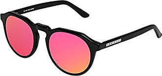 Unisex Classic Sunglasses, Multicolored (Green/Silver Frame), One Size Hawkers