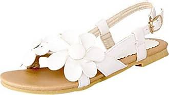 Damen Frauen Sommer Schuhe Suesse Prinzessin Gaensebluemchen Sandale Rosa CN 35=EU 34.5 Hee Grand pl1txEVlVJ