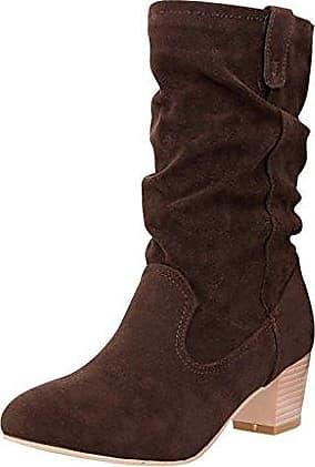 Damen Maedchen Elegante Schuhe Sexy Stiefel Freizeit Boots Weiss CN Groesse 39=EU Groesse 37.5 Hee Grand scV7oxkjt