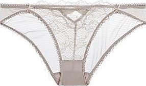 Cheap Clearance Finishline Online Heidi Klum Intimates Woman Crocheted Lace Low-rise Briefs Coral Size L Heidi Klum Intimates Enjoy For Sale DT59D0E