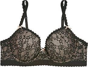 Countdown Package Sale Online Cheap Sale Really Heidi Klum Intimates Woman Jersey-trimmed Lace Underwired Bra Black Size 32 B Heidi Klum Intimates Buy Cheap Shop For 5dD16b