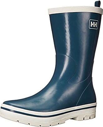 W Veierland 2, Botas de Agua para Mujer, Azul (Evening Blue/Vintageind 689), 38 EU Helly Hansen