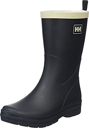 Helly Hansen Midsund 2, Damen Trekking- & Wanderstiefel, Schwarz (Black/Natural Shiny), 40.5 EU (7 UK)