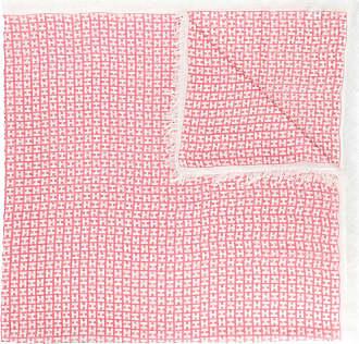 frayed edge scarf - Pink & Purple Hemisphere 4TrPpXAcmQ