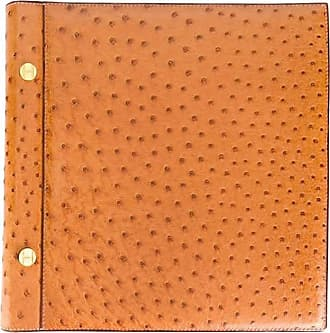 Hermès Hermes Rarity Gold Ostrich Leather Album 90s IypzLmc0d7