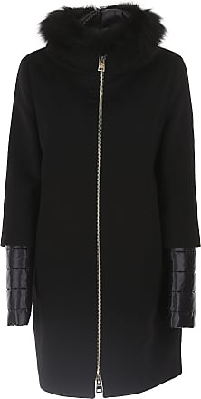 Womens Clothing On Sale in Outlet, Black, Virgin wool, 2017, 10 8 Herno