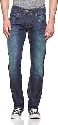Mens Tyler Denim Stretch Jeans, Blue Border Herrlicher